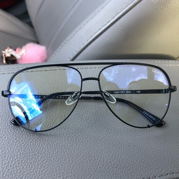 detailed images best loved outlet store sale Quay Australia Accessories | Quay High Key Mini Blue Light Glasses ...